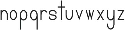 Pricisia Bold ttf (700) Font LOWERCASE