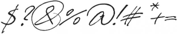 PrimaScript Alternative otf (400) Font OTHER CHARS