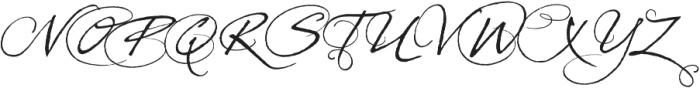 PrimaScript Alternative otf (400) Font UPPERCASE