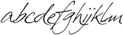 PrimaScript otf (400) Font LOWERCASE