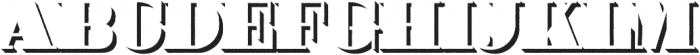 Priman Rough otf (400) Font UPPERCASE