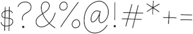 Primaria Fina otf (400) Font OTHER CHARS