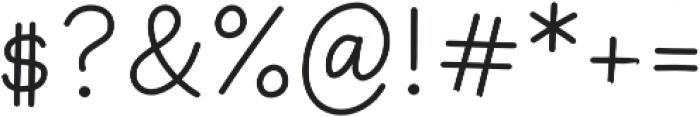 Primaria Print-Regular otf (400) Font OTHER CHARS