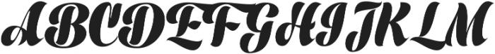 Prime Script ttf (400) Font UPPERCASE