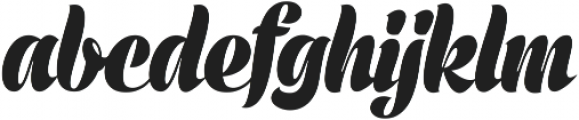 Prime Script ttf (400) Font LOWERCASE