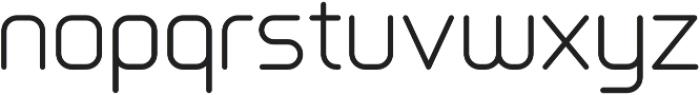 Primus otf (300) Font LOWERCASE