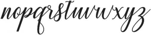 Princella Bold Bold otf (700) Font LOWERCASE