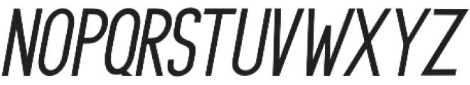 Princella Sans Slant Italic otf (400) Font UPPERCASE