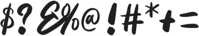 Priscillia Script Medium otf (500) Font OTHER CHARS