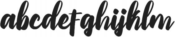 Priscillia Script Medium otf (500) Font LOWERCASE