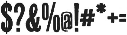 Prison AOE otf (400) Font OTHER CHARS