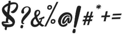 Pristyne Regular otf (400) Font OTHER CHARS