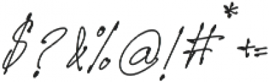 Prizertiez Regular otf (400) Font OTHER CHARS