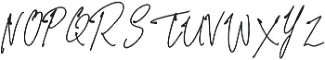 Prizertiez Regular otf (400) Font UPPERCASE