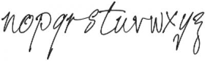 Prizertiez Regular otf (400) Font LOWERCASE
