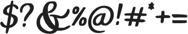 ProbablyNot Alt Bold otf (700) Font OTHER CHARS