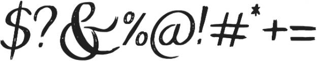 ProbablyNot Regular otf (400) Font OTHER CHARS