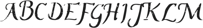 ProbablyNot Regular otf (400) Font UPPERCASE