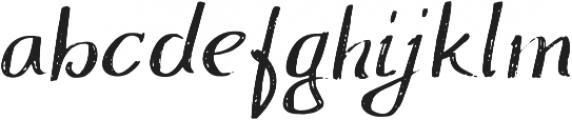 ProbablyNot Regular otf (400) Font LOWERCASE