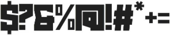 Prodush Regular otf (400) Font OTHER CHARS