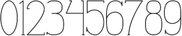 Profuturic-Serif otf (400) Font OTHER CHARS
