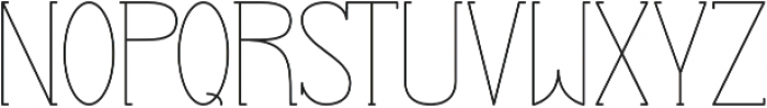 Profuturic-Serif otf (400) Font UPPERCASE