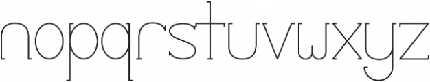 Profuturic-Serif otf (400) Font LOWERCASE
