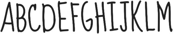 Promised Freedom ttf (400) Font UPPERCASE