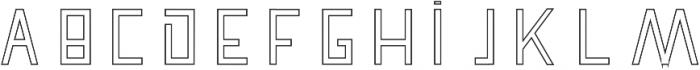 Pronghorn Hollow otf (700) Font UPPERCASE