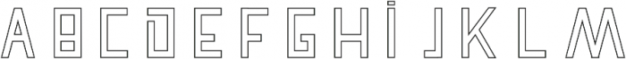 Pronghorn Hollow otf (900) Font UPPERCASE