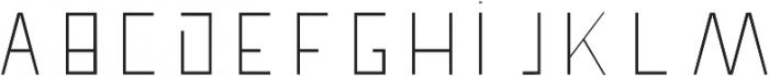 Pronghorn otf (300) Font UPPERCASE