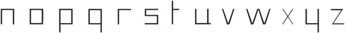 Pronghorn otf (300) Font LOWERCASE