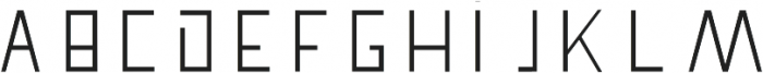 Pronghorn otf (400) Font UPPERCASE
