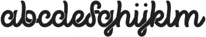 Propeller otf (400) Font LOWERCASE