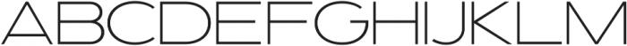 Prosa Light otf (300) Font LOWERCASE