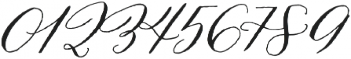 Prosciutto Half otf (400) Font OTHER CHARS