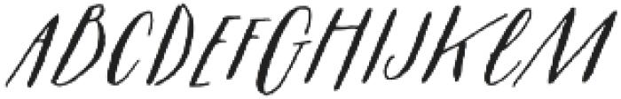 Prosciutto Half otf (400) Font LOWERCASE
