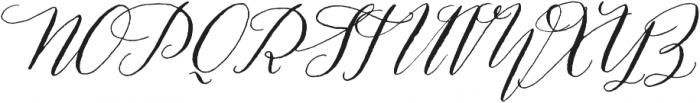 Prosciutto Mixed otf (400) Font UPPERCASE