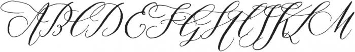 Prosciutto otf (400) Font UPPERCASE
