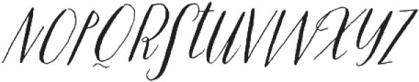 Prosciutto otf (400) Font LOWERCASE
