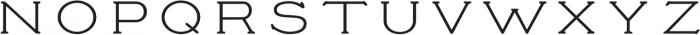 Prospect ttf (400) Font UPPERCASE