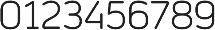 Prota Standard Regular otf (400) Font OTHER CHARS