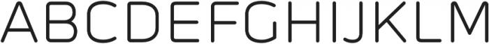 Prota Standard Regular otf (400) Font UPPERCASE