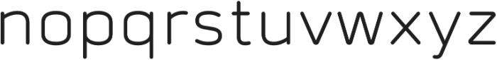 Prota Standard Regular otf (400) Font LOWERCASE