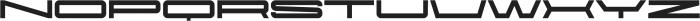Protrakt Heavy-Exp-Seven otf (800) Font LOWERCASE