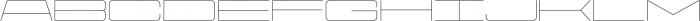 Protrakt Light-Exp-Six otf (300) Font UPPERCASE