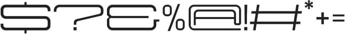Protrakt Medium-Exp-Four otf (500) Font OTHER CHARS