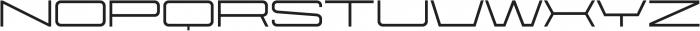 Protrakt Medium-Exp-Four otf (500) Font UPPERCASE