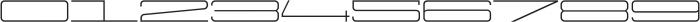 Protrakt Regular-Exp-Eight otf (400) Font OTHER CHARS
