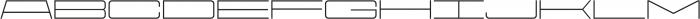 Protrakt Regular-Exp-Seven otf (400) Font UPPERCASE